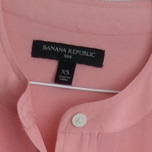Banana Republic Tops - Banana Republic NWOT 100% SILK blouse XS